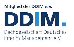 Member of the DDIM | Germany's leading national platform for professional interim management and associated agency services